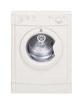Indesit IDV75 7kg Load Vented Tumble Dryer - White