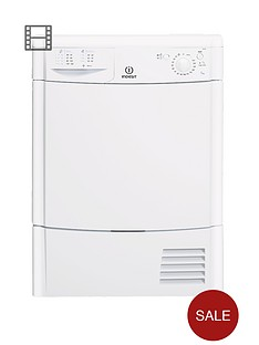 indesit-idc85-8kg-load-condenser-dryer-white