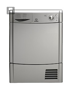 indesit-idc85s-8kg-load-condenser-dryer-silver