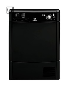 indesit-idc85k-8kg-load-condenser-dryer-black