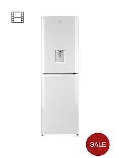 beko-cfd6914apw-60cm-frost-free-fridge-freezer-next-day-delivery-white