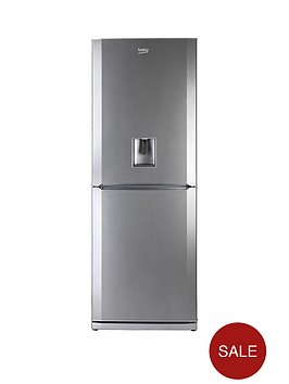 beko-cfd6914aps-60cm-frost-free-fridge-freezer-silver