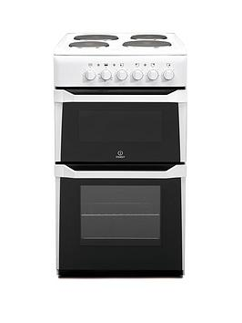 indesit-it50ews-50cm-twin-cavity-electric-cooker-white