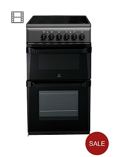 indesit-it50cas-twin-cavity-electric-cooker-anthracite