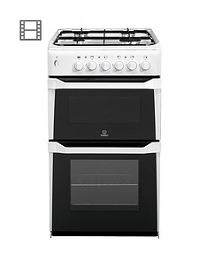 indesit-it50gw-50cm-twin-cavity-gas-cooker-with-fsd-white