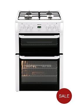 beko-bdvg694wp-60cm-double-oven-gas-cooker-white