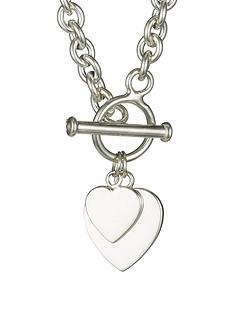 love-silver-elements-sterling-silver-double-heart-t-bar-pendant