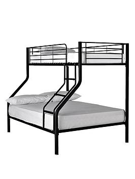 Kidspace Domino Trio Bunk Bed - bunk-bed frame only