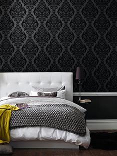 laurence-llewelyn-bowen-kinky-vintage-wallpaper-black