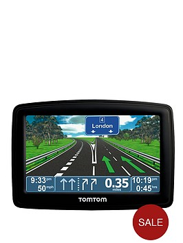tom-tom-xl-iq-routes-edition-uk-and-roi-43-inch-satellite-navigation-unit