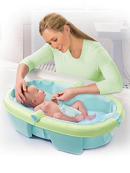 summer infant folding baby bath tub. Black Bedroom Furniture Sets. Home Design Ideas
