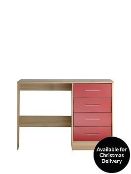 kidspace-ohio-desk-black-pink