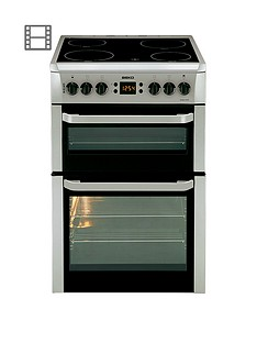 beko-bdvc667s-60cm-electric-cooker-with-connection-silver