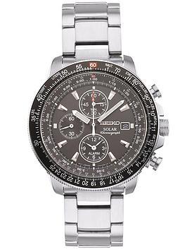 seiko-silver-solar-mens-watch