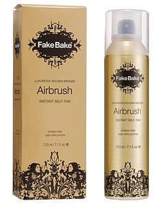 fake-bake-airbrush-instant-self-tan-210ml-free-fake-bake-oil-free-body-moisturiser