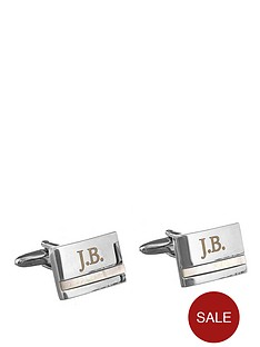 personalised-pearl-stone-cufflinks
