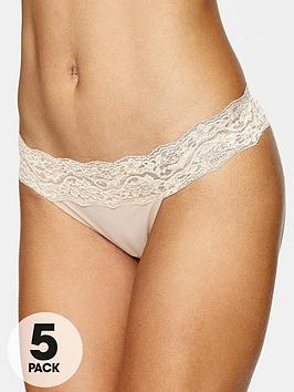 intimates-essentials-lace-trim-thongs-5-pack