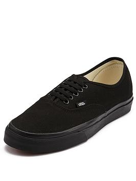 vans-authentic-plimsolls-blackblack