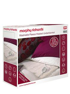 morphy-richards-fleece-heated-underblanket