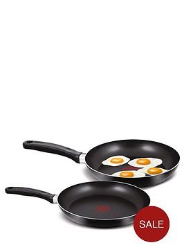 tefal-2-piece-frying-pan-set-black
