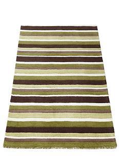 carved-stripe-wool-rug