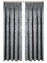Llouis Jacquard Pencil Pleat Curtains