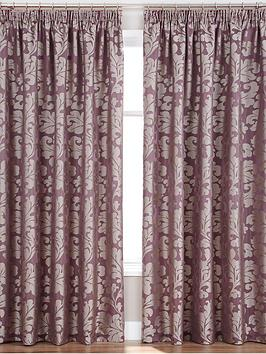 elegance-woven-jacquard-lined-pleated-curtains