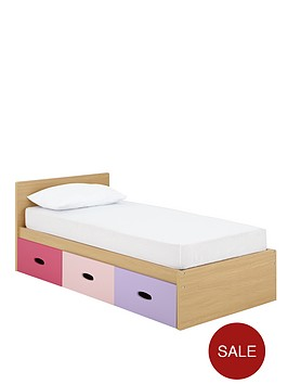 Ladybird Harley Kids Single Storage Bed