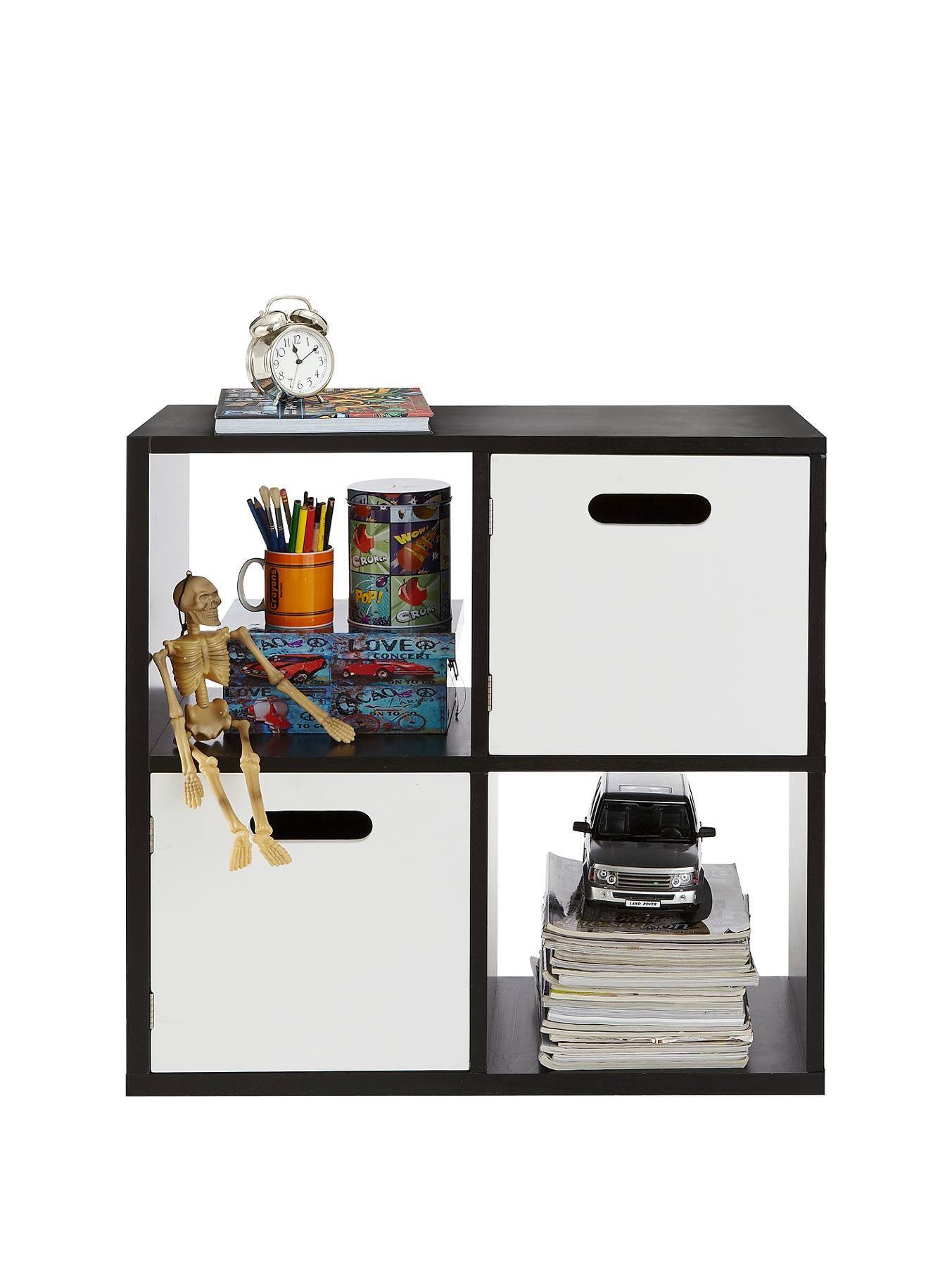 Kidspace Kube 2 X 2 Storage Shelf And Cupboard Unit