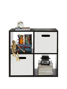 kidspace-kube-2-x-2-storage-shelf-and-cupboard-unit