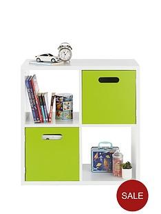 kidspace-kube-2-x-2-storage-shelf-and-cupboard-unit