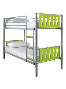 kidspace-cyber-bunk-bed-frame-2-standard-mattresses-buy-and-save