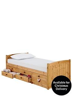 kidspace-georgie-solid-pine-single-storage-bed-frame