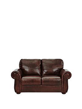 Cassina 2-Seater Italian Leather Sofa