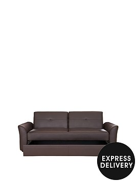 idaho-faux-leather-sofa-bed-with-storage-drawer