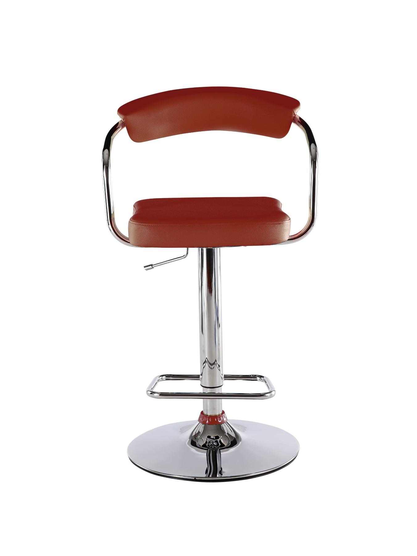 Texas Bar Stool - Red, Red,Black,Cream