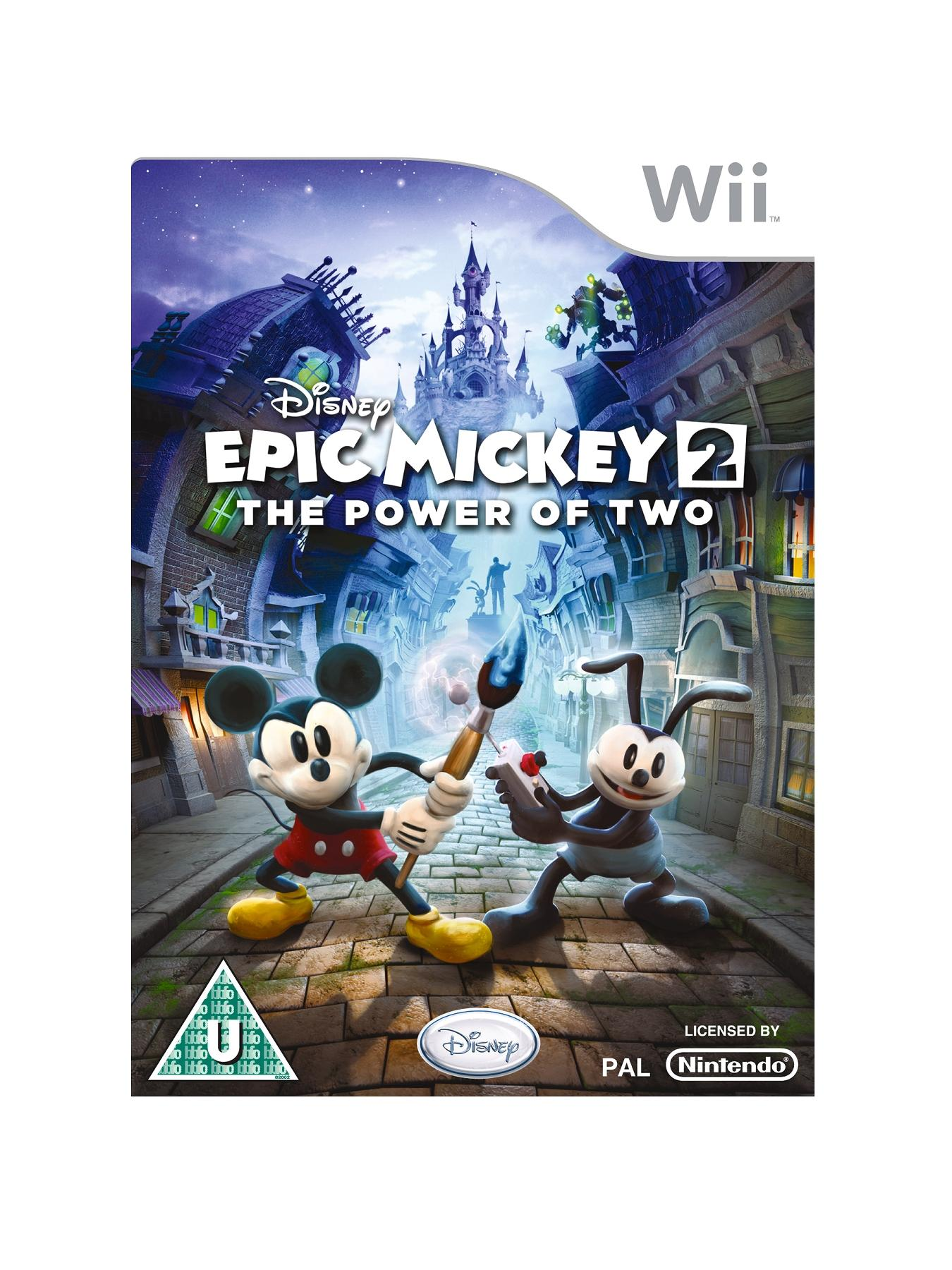 Nintendo Wii Epic Mickey 2: The Power of 2