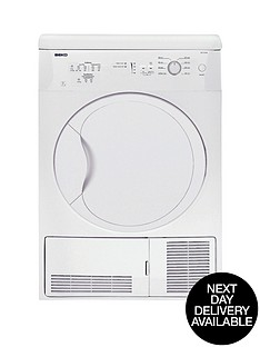 beko-dc7110w-7kg-load-condenser-dryer-white-next-day-delivery