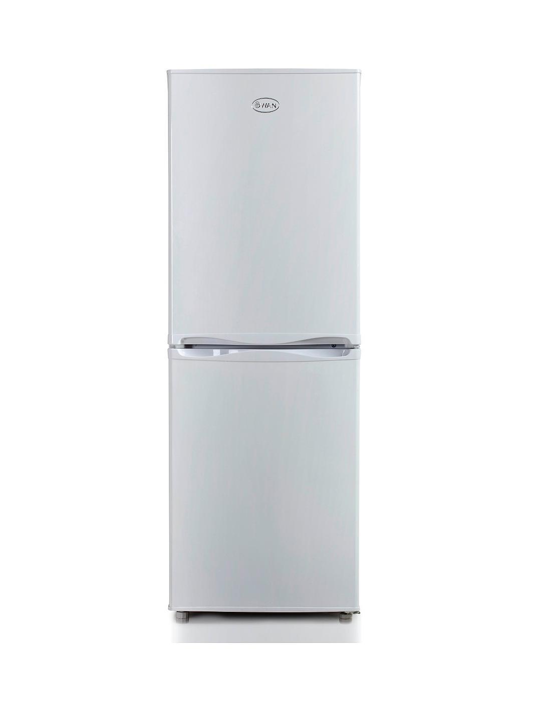 swan sr5290w 50cm fridge freezer white. Black Bedroom Furniture Sets. Home Design Ideas