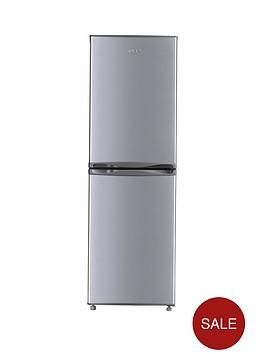 swan sr5300s 55cm fridge freezer silver. Black Bedroom Furniture Sets. Home Design Ideas