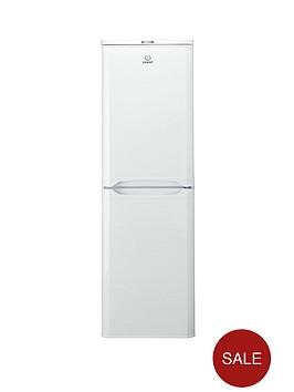 indesit-caa55-55-cm-fridge-freezer-white