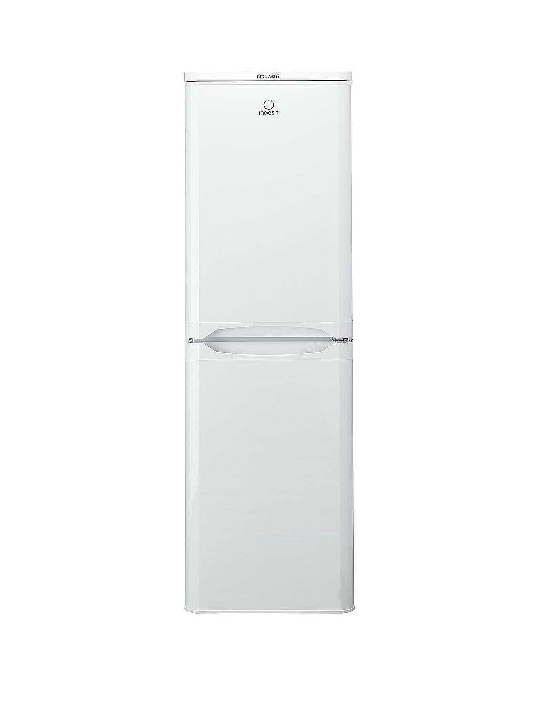 indesit caa55 55 cm fridge freezer white. Black Bedroom Furniture Sets. Home Design Ideas