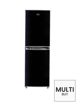 swan-sr5310b-55cm-frost-free-fridge-freezer-black