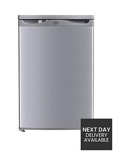 swan-sr5151s-55cm-under-counter-larder-freezer-silver-next-day-delivery