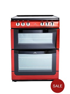 new-world-nwe601edo-60cm-double-oven-electric-cooker-red