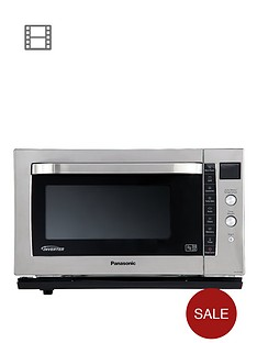 panasonic-nn-cf778s-flatbed-combination-microwave