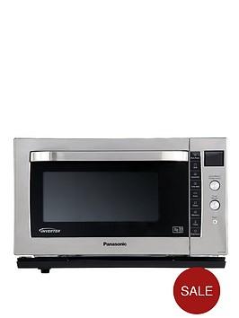 panasonic-nn-cf778s-flatbed-combination-microwave