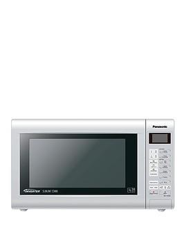 panasonic-nn-ct562mbpq-slimline-combination-microwave-silver