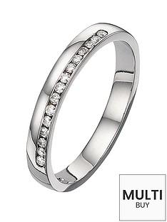 moissanite-9-carat-white-gold-15pt-equivalent-wedding-band-3mm-free-personalisation