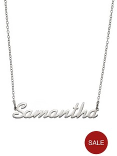 love-silver-personalised-sterling-silver-name-necklace